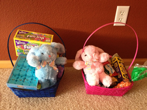 Our Easter Baskets 2014