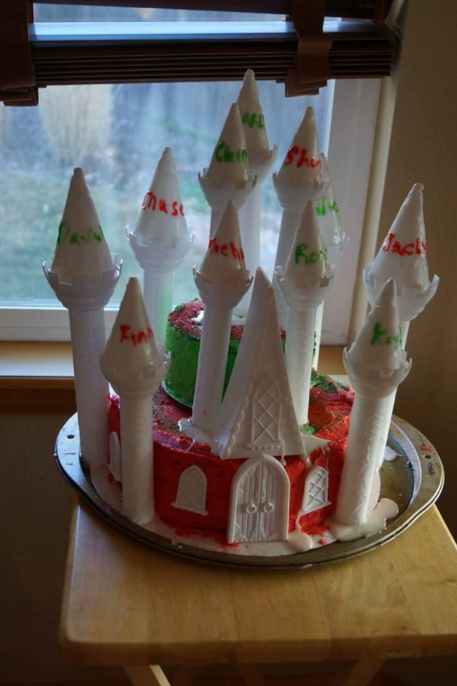 Xmas Blog Cake